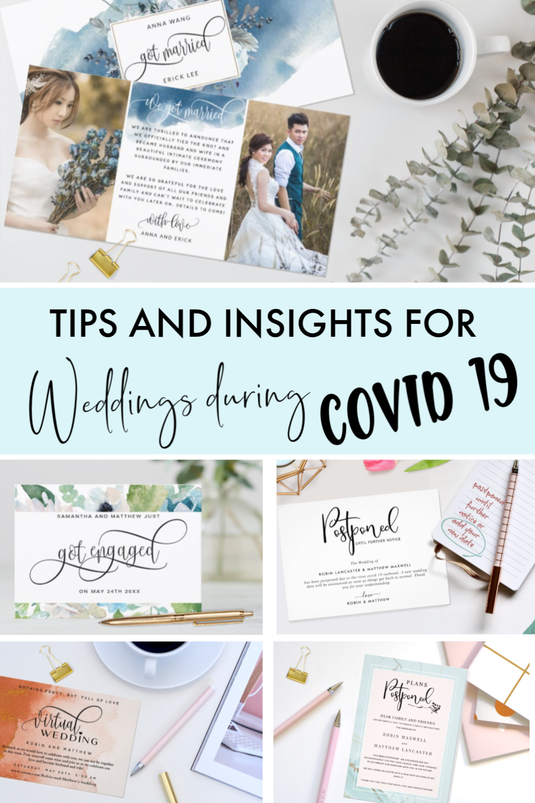 Tips and Insights for Weddings during Covid 19